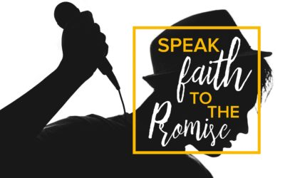 Speak Faith To The Promise